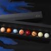 バレンタインに地球が食べたい 太陽系をチョコにしちゃった「惑星ショコラ」がきれい