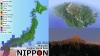 マインクラフト上でリアルな日本列島を再現してしまった強者が登場