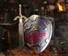 あの鍛冶職人が『ゼルダの伝説』の「ハイリアの盾」を制作、マスターソードと合わせて完全装備に