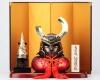 「天元突破グレンラガン」の五月人形兜飾りが登場! アニメを愛する富山県の伝統工芸職人が制作