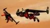 時速300kmで空を飛ぶジェットマンがドバイの「ブルジュ・ハリファ」などを飛行するド迫力の4K画質ムービー