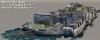 「軍艦島」を3DCG化 長崎大がフルHD動画公開 レーザースキャナやドローン活用、実測を基に再現