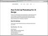 Photoshopの作業パフォーマンスを向上させる最適な環境設定のまとめ -CC2015対応