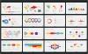 100種類のシンプルで洗練されたスライドやインフォグラフィックが無料で使えるパワーポイントのテンプレート素材