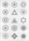 同人誌などの商用利用もOK!魔方陣のような複雑で美しい幾何学模様のベクター素材 -Fluid Geometric Shapes