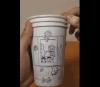 これはすごい! 紙コップに描かれた「ドラえもん」漫画に絶賛の声 「天才!」「職人すぎる!」
