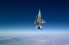 F-16がまっすぐ垂直な写真が美しい