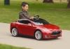 子ども用Tesla Model S(もちろん電動)、499ドルで予約開始