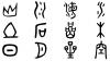 無料で商用利用も可能な、漢字の成り立ちが分かる古代文字っぽいフォント「春秋-tsu」